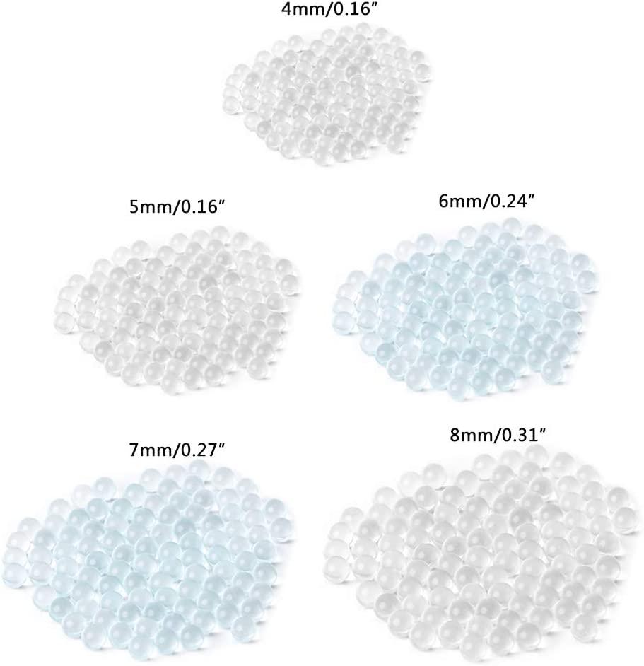 Hacloser 100Pcs Small Glass Mixing Balls