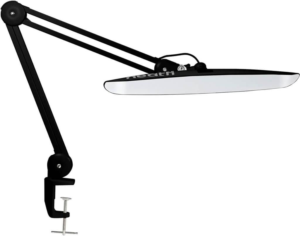 Wide Shade LED Desk Lamp