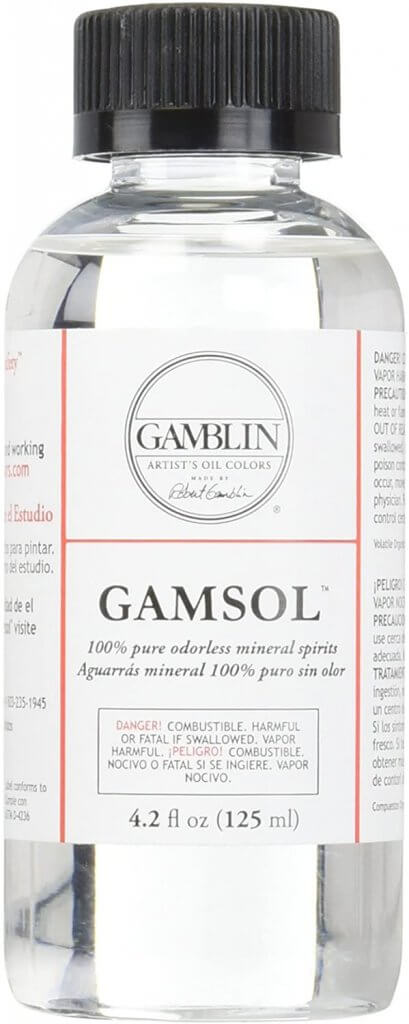 Gamsol Mineral Spirits Small Bottle