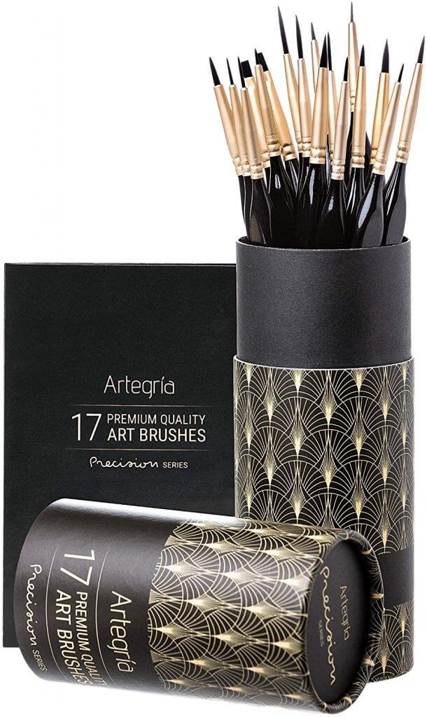 Synthetic Hobby Brushes